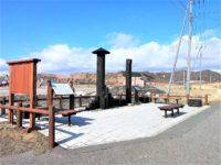 「箱館戦争官軍上陸の地碑」のある乙部町は、新政府軍が蝦夷地進撃を始めた起点となった場所!
