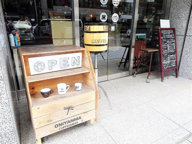 ONIYANMA COFFEE&BEER(オニヤンマコーヒー&ビア) 入口