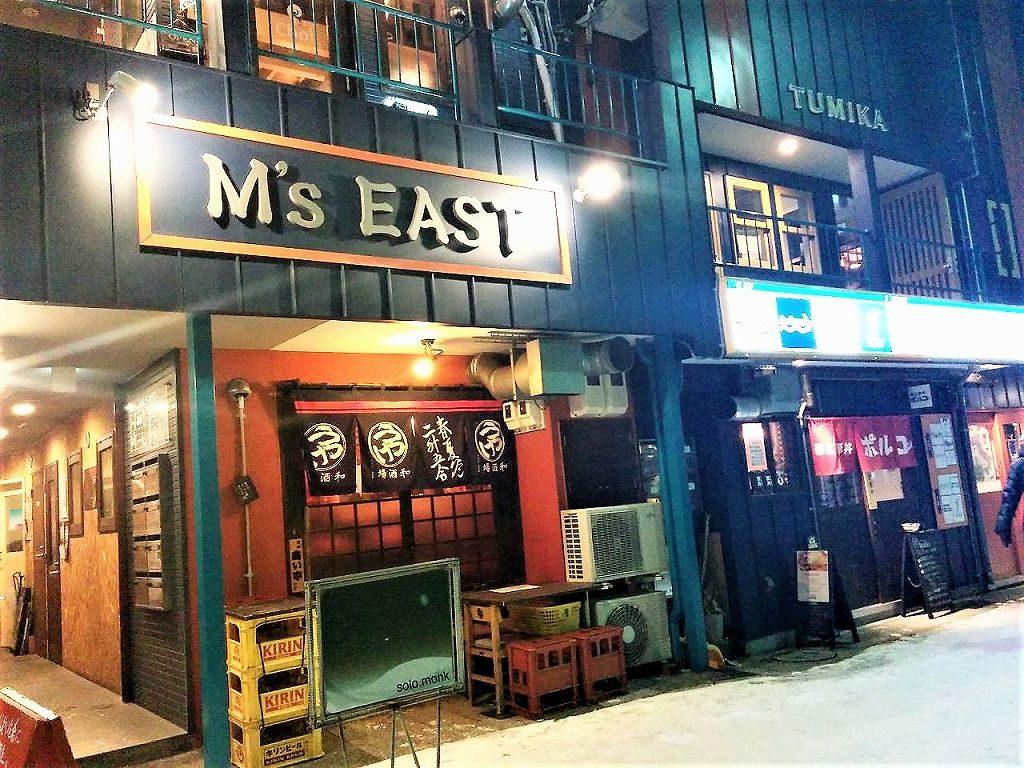 M's EASTの右側の店舗が帯広豚丼ポルコさん