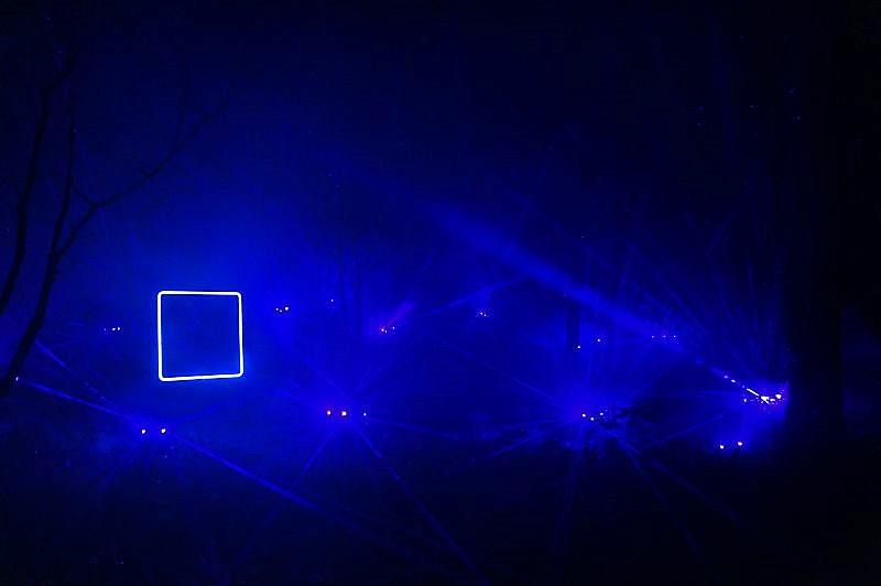KAMUY LUMINA(カムイルミナ)/阿寒湖 光で照らされる森の中