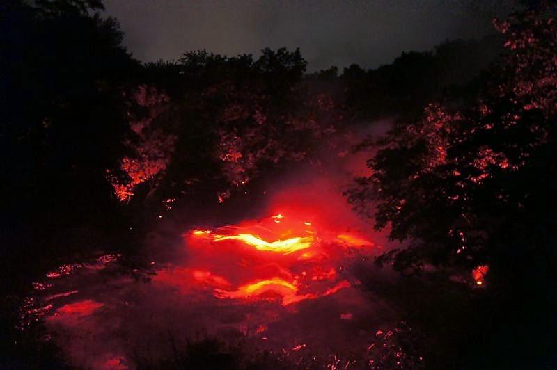 KAMUY LUMINA(カムイルミナ)/阿寒湖 ボッケに映し出された光の演出