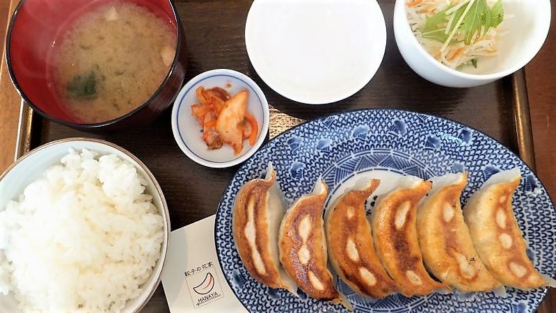 餃子ライスセット(餃子6個) 880円