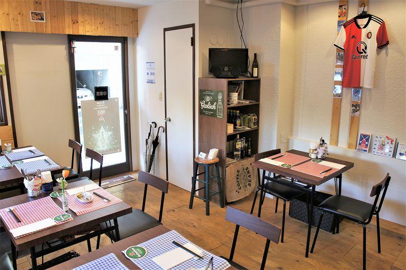 オランダ家庭料理のお店 STAMPPOT(スタンポット)/札幌市 店内