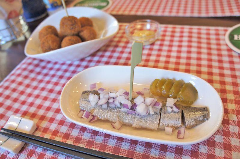オランダ家庭料理のお店 STAMPPOT(スタンポット)/札幌市 1年で3週間採れない希少なニシンをオランダから空輸している