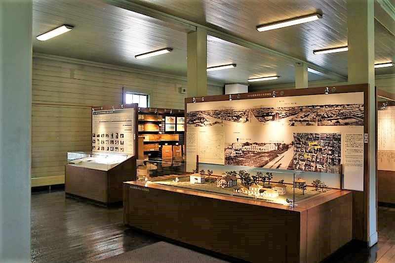 札幌市時計台の1階展示