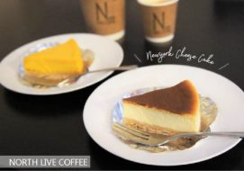 ノースライブコーヒー/江別市/地元素材の極上チーズケーキと特別な一杯!800円以下でおいしいペアリング♡