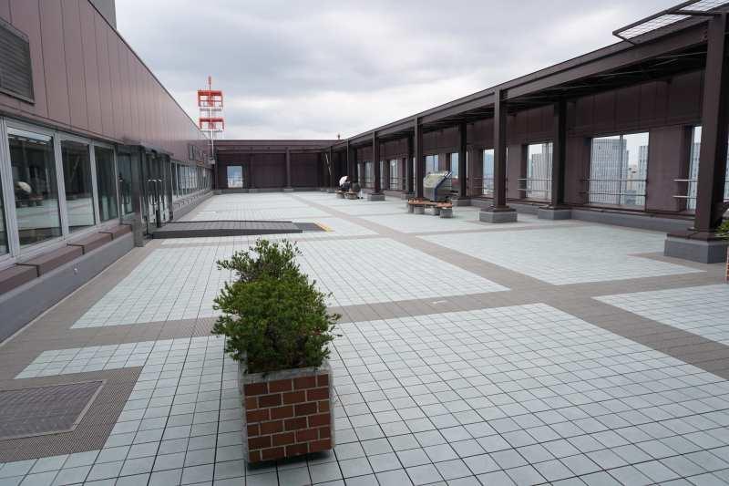 札幌市役所の展望回廊