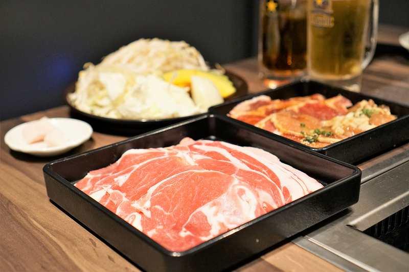 サッポロノルベサビール園の食べ放題お肉
