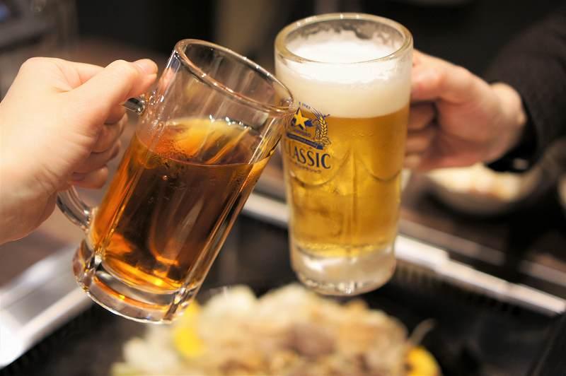 まずは乾杯~♪