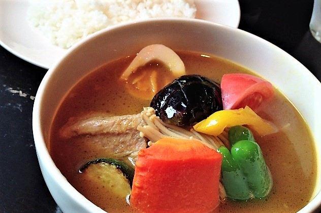 カリーヤコングのスープカレー