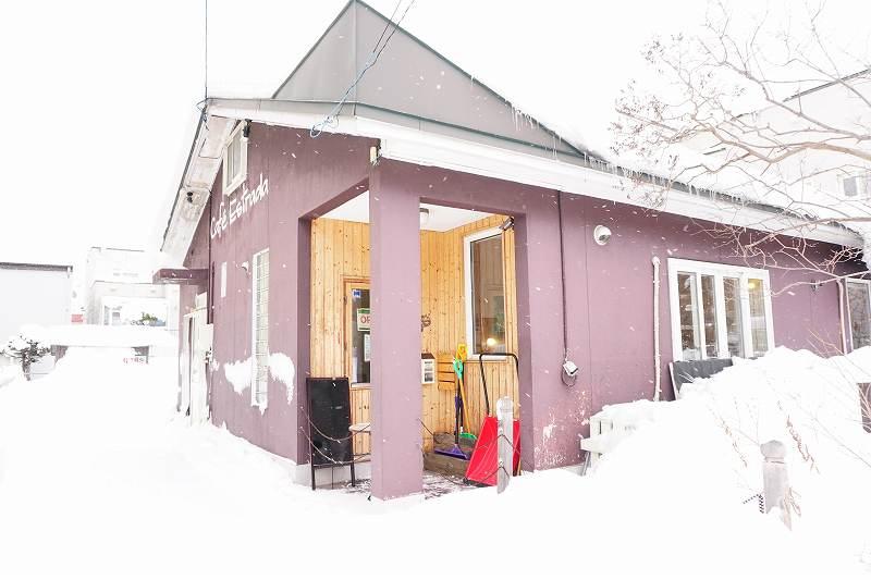 築40年の一軒家カフェ