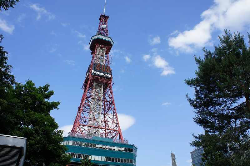 さっぽろテレビ塔の外観