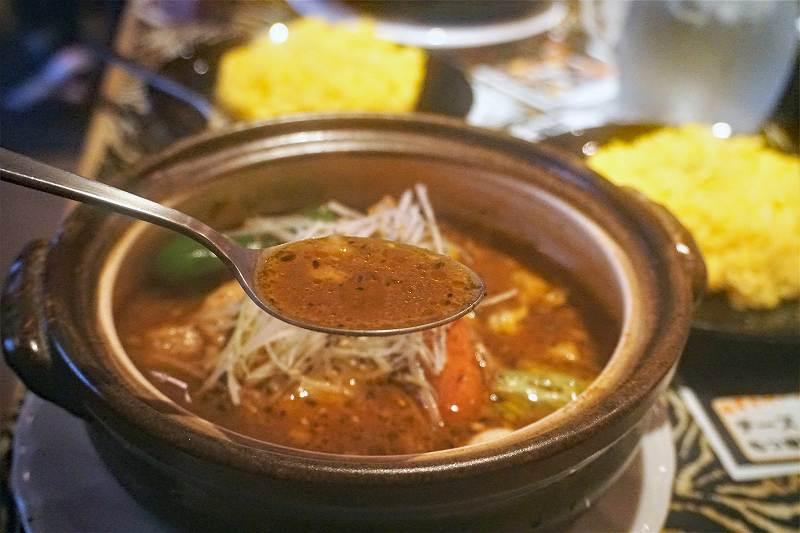 タイガーカレーの裏虎のスープ