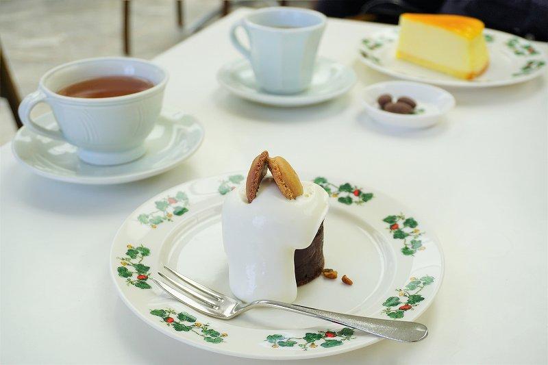 六花亭ケーキセット