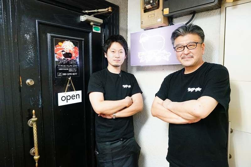 左:オーナー 山口和也さん、右:店長さん