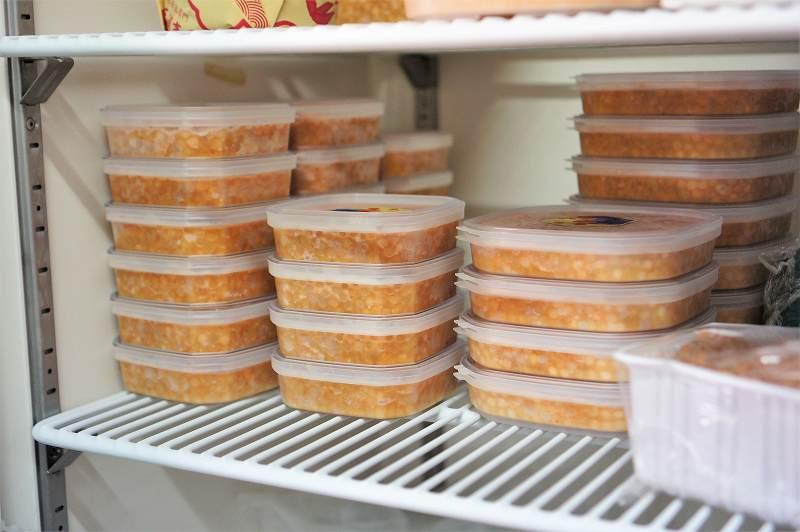 旬の時期に作り、おいしいまま冷凍保存