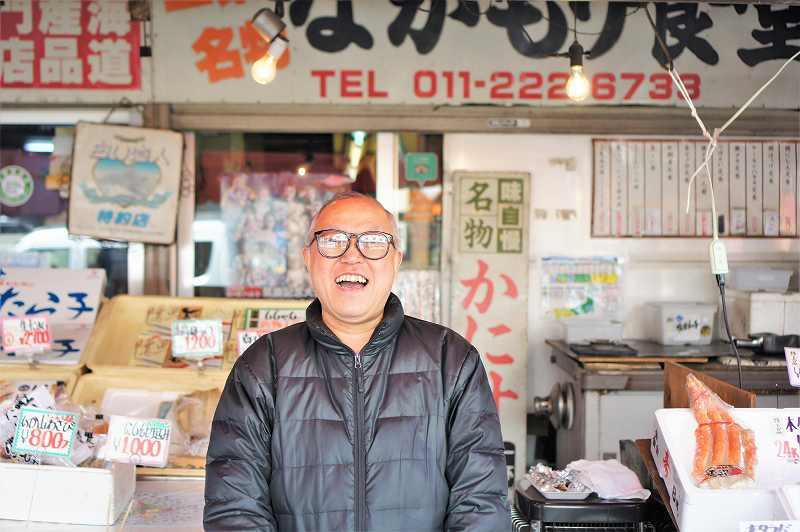 食事処 ながもり、三浦商店の二代目社長 三浦 達也さん
