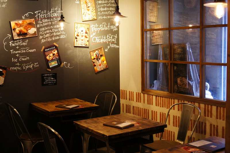 ROJIURA Café(ロジウラカフェ)の店内