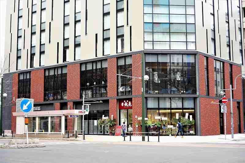 千秋庵ビルの低層階にはセイコーマートが入店予定