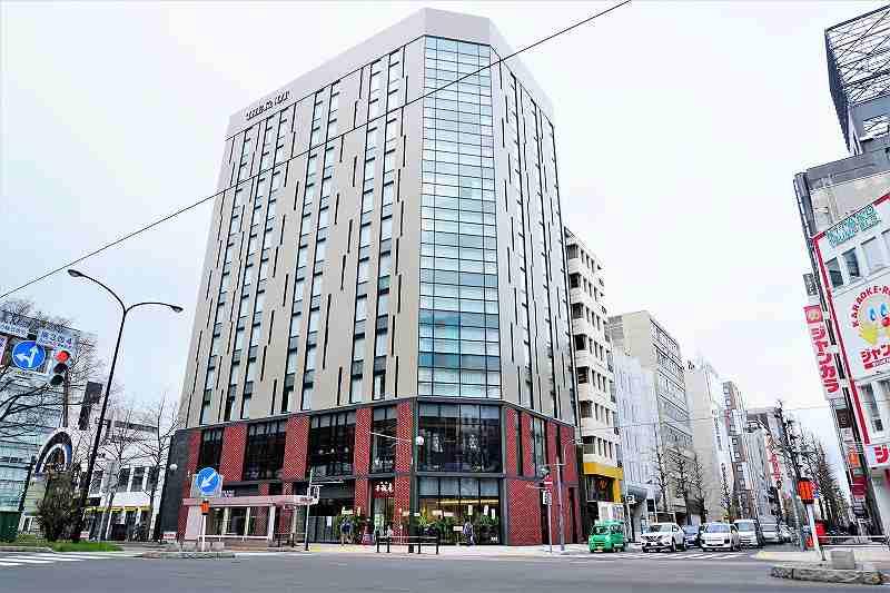 「ザ ノット札幌」の建物外観