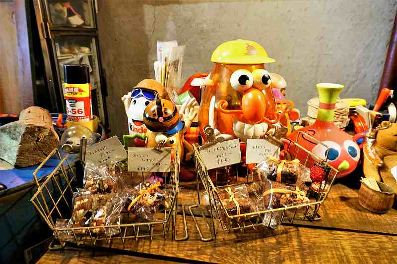 タムラ倉庫で販売している焼菓子