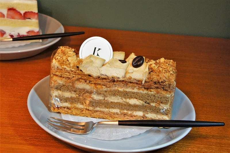"""きのとや の ケーキ """"カフェミルフィーユ"""""""