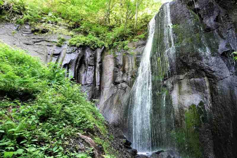 有明の滝 全景