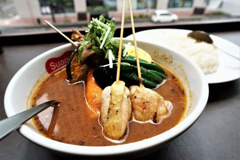 札幌スープカレーの走り Suage のスープカレー