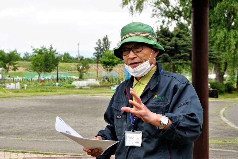 札幌さとらんど 副施設長 奥山さん