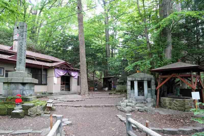 円山登山道 八十八ヶ所ルート入口