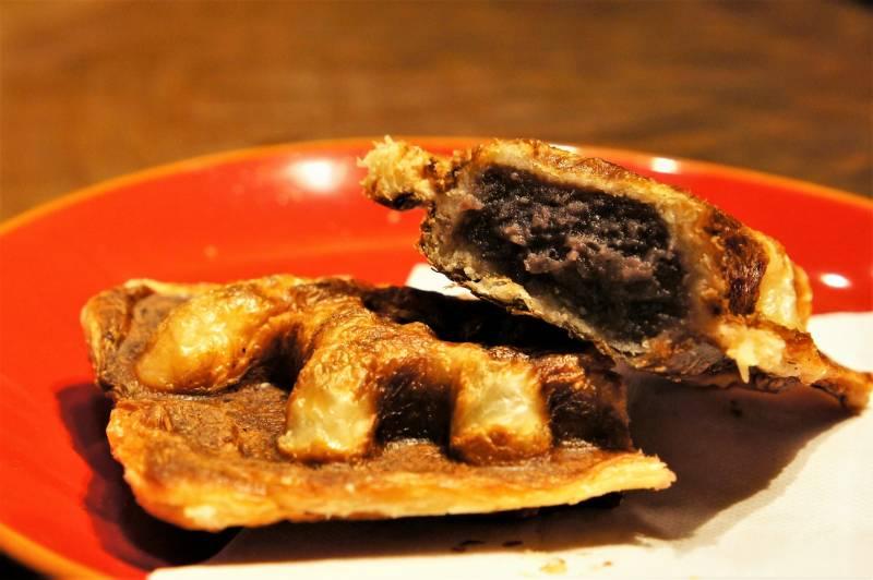 福吉カフェ伏古店 ドサンコ焼き の つぶあん味