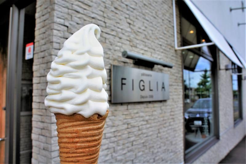 パティスリーフィリアのソフトクリーム