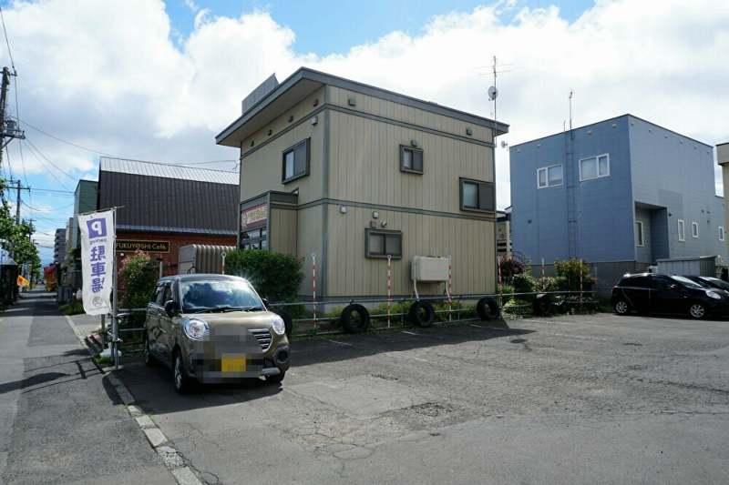 福吉カフェ札幌伏古店 の駐車場