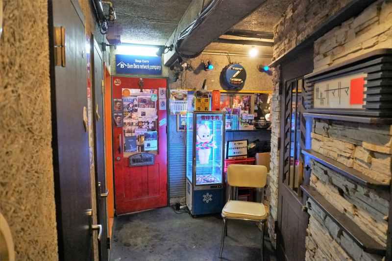 「ベンベラネットワークカンパニー」の店舗入口