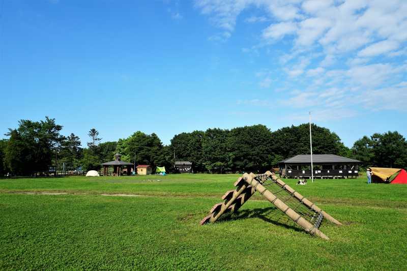 平日の江別森林キャンプ場