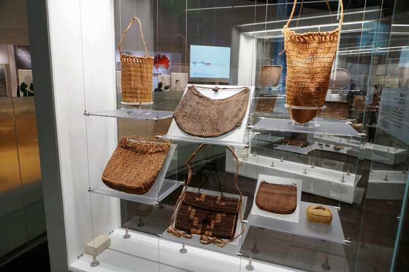 国立アイヌ民族博物館 基本展示室内