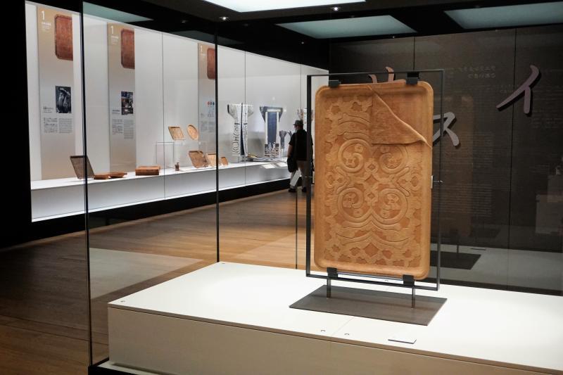 国立アイヌ民族博物館 特別展示室 木工芸品