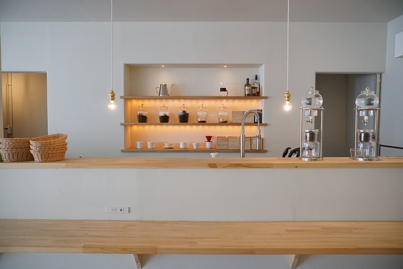 Cafe Piano Piano(カフェピアーノピアーノ)のカウンター席