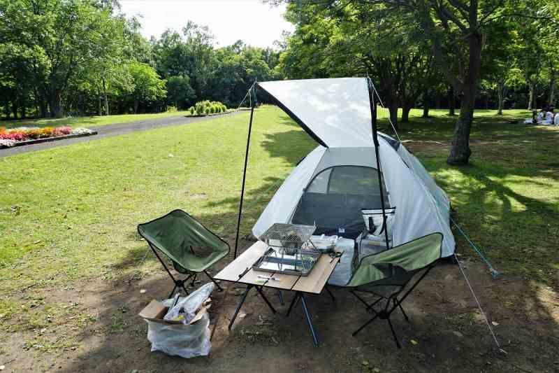 今回のキャンプ道具一式