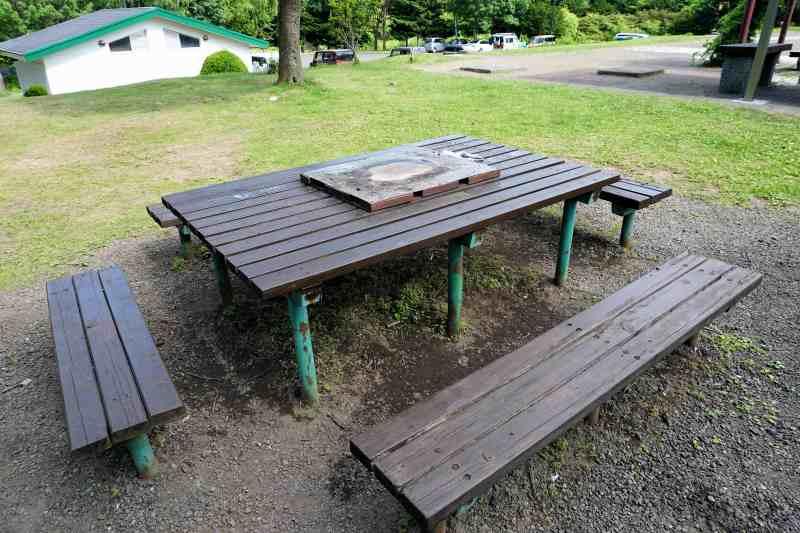 柏木地区レクリエーション施設のピクニック広場