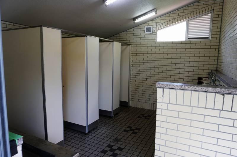 柏木地区レクリエーション施設のトイレ