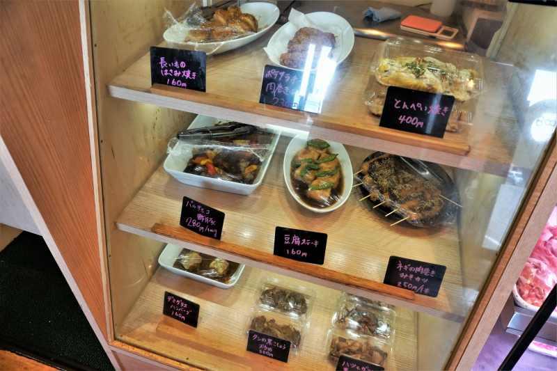 「ひこま豚食堂&精肉店Boodeli」のお惣菜