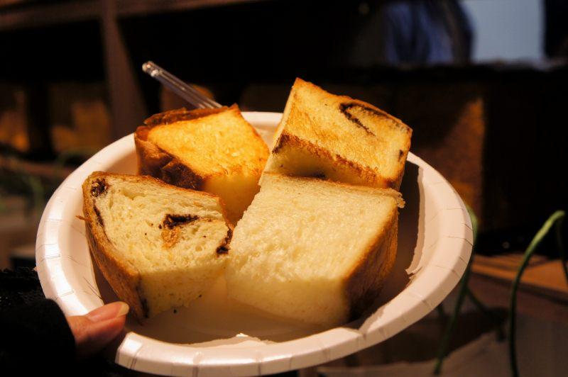 暮らせばわかるさ の 試食用食パン