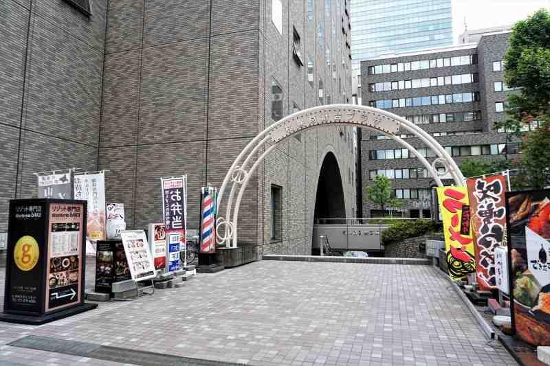 札幌時計台ビルの飲食店街入り口