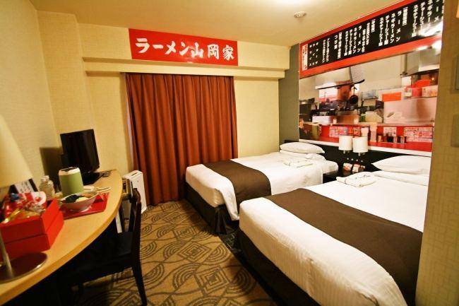 東急REIホテルの「山岡家部屋」