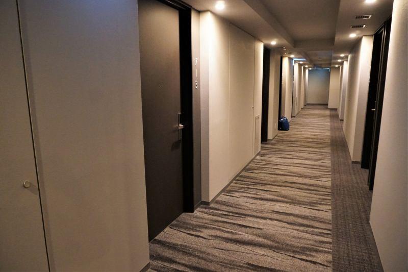 「JR INN 札幌駅南口」の廊下