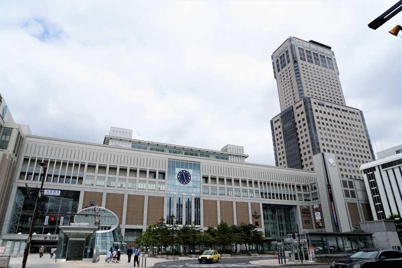 札幌駅南口の様子