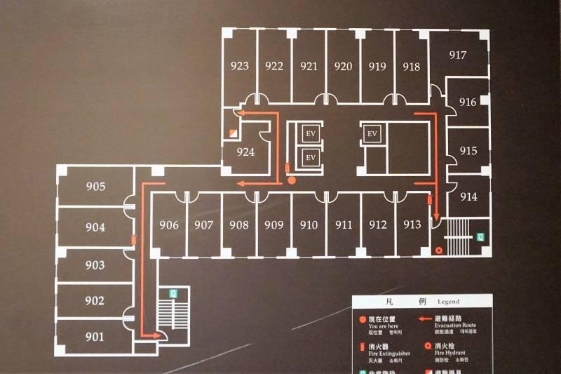 スマイルホテルプレミアム札幌すすきのののフロア図