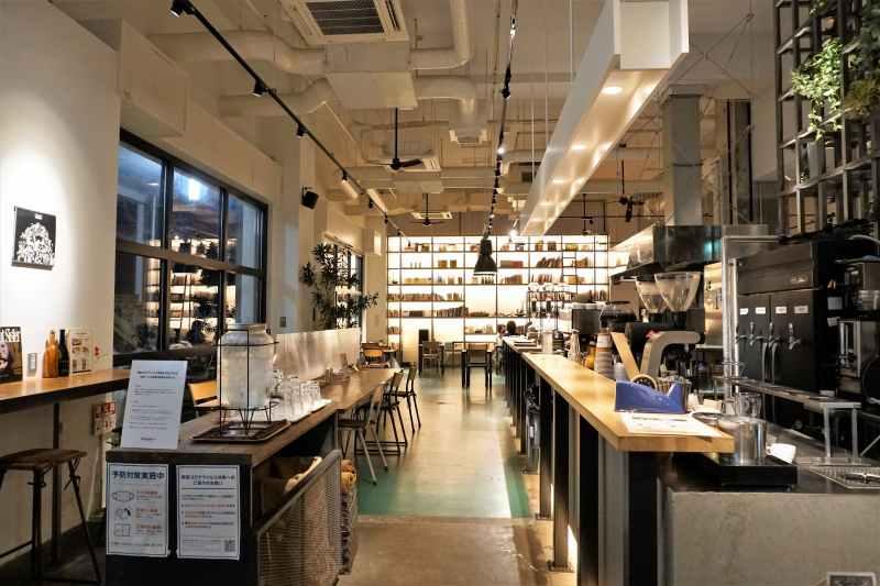 MIRIHICO.STAY&COFFEEの店内