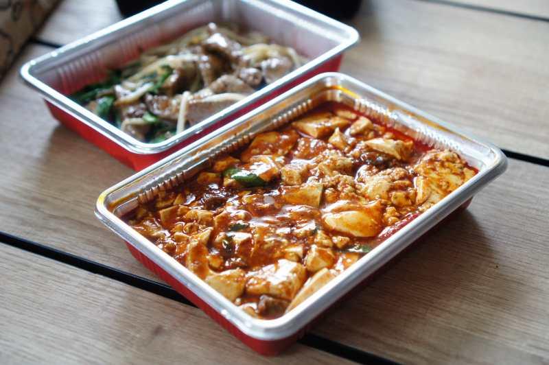 ウォルトで注文した「唐韻」の四川風麻婆豆腐